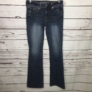 AEO Kick boot jeans 4 long